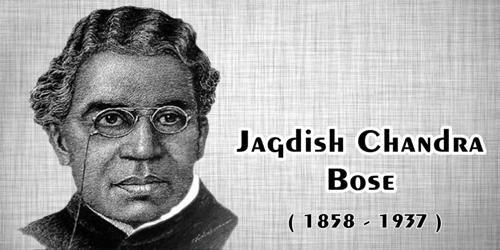 Contributions of Jagadish Chandra Bose in Physics