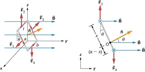 Experiment: Torque experienced by a Current Loop in Uniform Magnetic Field