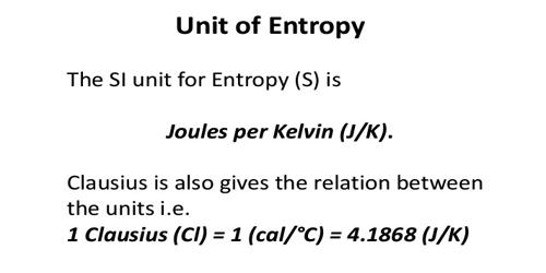How to Measure Units of Entropy?