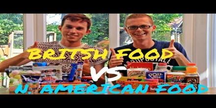 Food Habit: American vs Britain