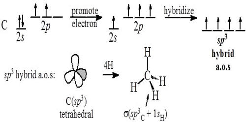 Point out Conditions of Hybridization