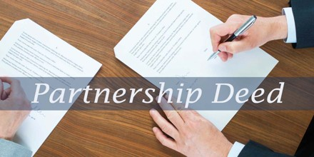 Define and Describe on Partnership Deed