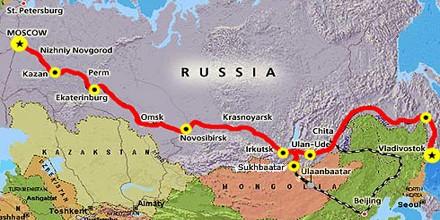 Short Note on Trans-Siberian Railway
