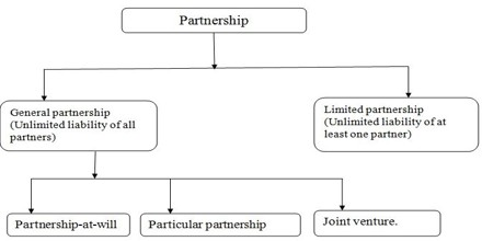 Types of Partnerships on the basis of Liability