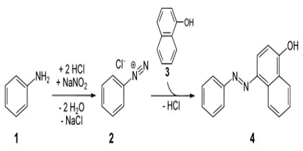 Formation of Azo Dyes