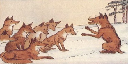 Moral Story: A Fox without Tail