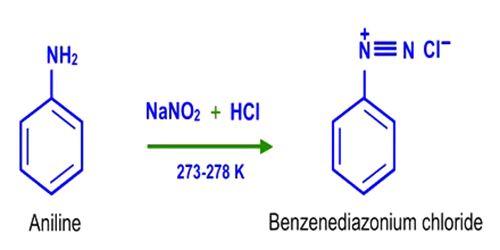 Physical Properties of Benzenediazonium Chloride