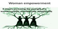 Empowerment of Woman