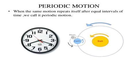 Periodic Motion: Experiment