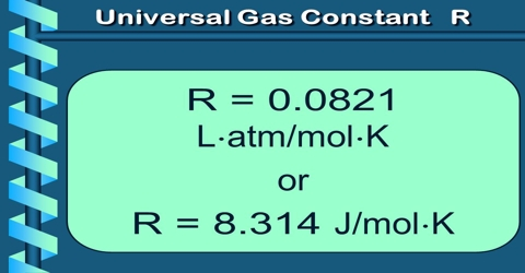 Significance of Universal Gas Constant (R)