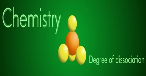 Degree of Dissociation in Abnormal Densities of Gases