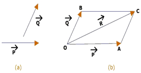 Parallelogram Law in Geometrical Addition of Vector Quantities