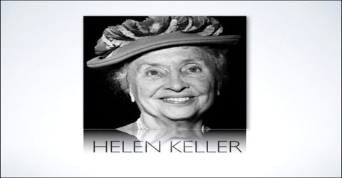 Helen Keller: First Deaf-Blind Person who Earn Bachelor of Arts Degree