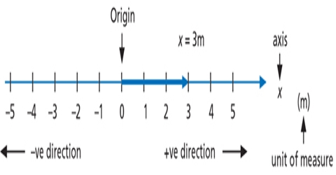 One Dimensional Reference Frame