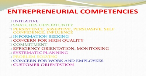 Entrepreneurial Competencies