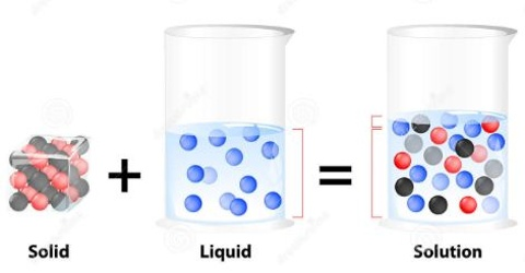 Solid – Liquid Solution: The Solution Process
