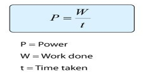 Power Definition in Physics