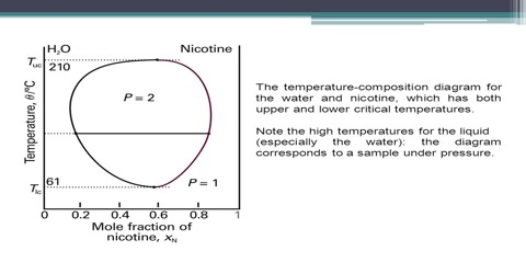 Liquid-Liquid Equilibria in Partially- Miscible Systems: Nicotine-water