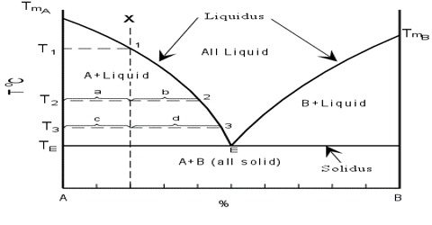 Two Components form a Compound: Solid-liquid Equilibria