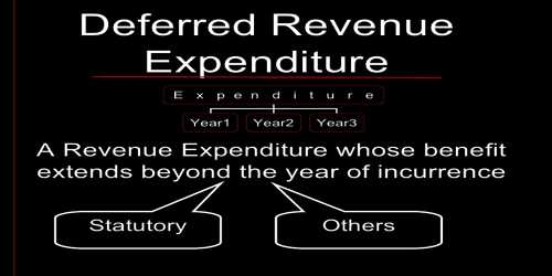 Difference among Capital, Revenue and Deferred Revenue Expenditure