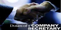 Duties of Company Secretary towards office staff and executive