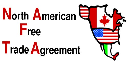 Expansion of North American Free Trade Agreement (NAFTA)