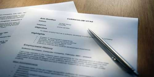 Meaning of Resume or Curriculum Vitae