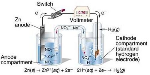 Determination of Standard Electrode Potential (SEP)