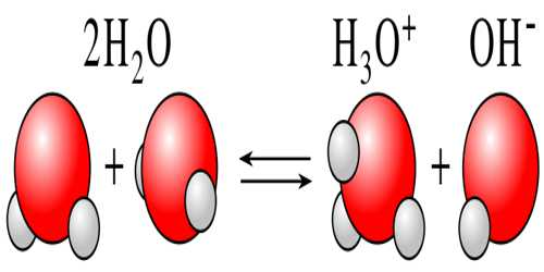 Self-Ionization (or autoionization) of Water