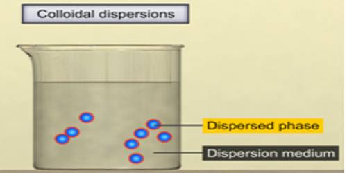Disperse Phase and Dispersion Medium