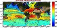 Horizontal Distribution of Salinity