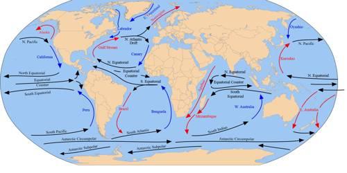 Major Ocean Currents