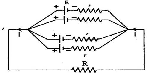 Parallel Combination of a Cell