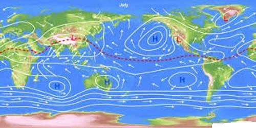 World Distribution of Sea Level Pressure