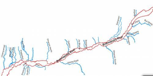 Brahmaputra System of Himalayan Drainage