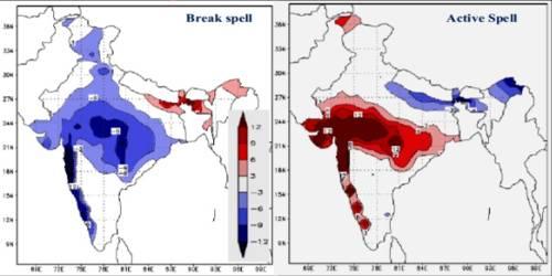 Break in the Indian Monsoon