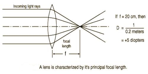 Experiment: Determination of the Focal Length and Power of a Lens