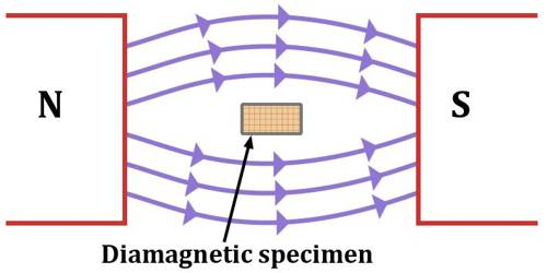 General properties of Diamagnetic Material