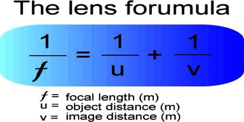 Lens Maker's Formula or Equation of Lens Formation