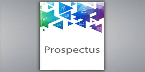 Objectives of Prospectus