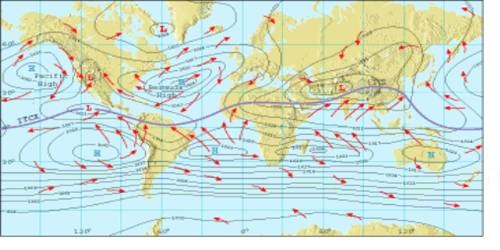 Surface Pressure and Winds in the Winter Season