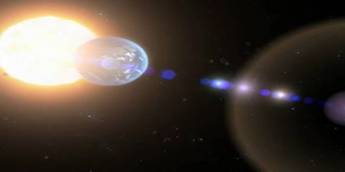 Theory of Relativity in Journey to Space
