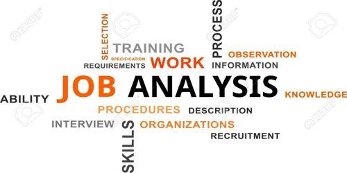 Critical incidents method to Analyzing Job