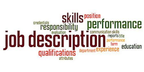 Features of Job Description