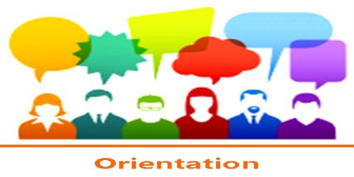 Steps of Orientation