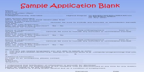 How does Weighted Application Form work?
