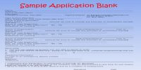 Weighted Application Form