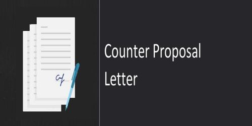 Counter Proposal Letter Writing Tips