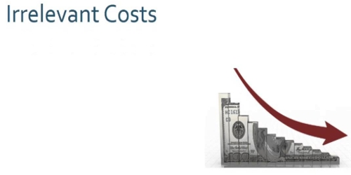 Irrelevant Cost
