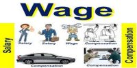 Differentiate between Wage and Salary